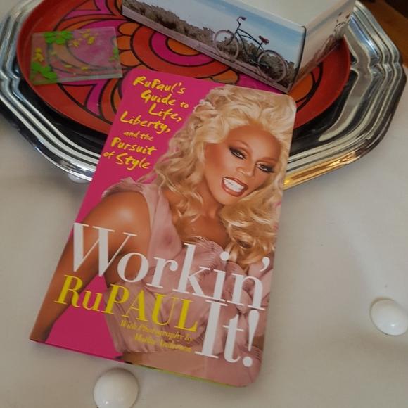 RuPaul Workin' It! Book
